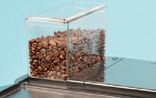 Schaerer увеличенный-бункер-для-кофе