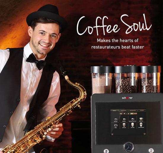 Профессиональные кофемашины Schaerer Coffee soul